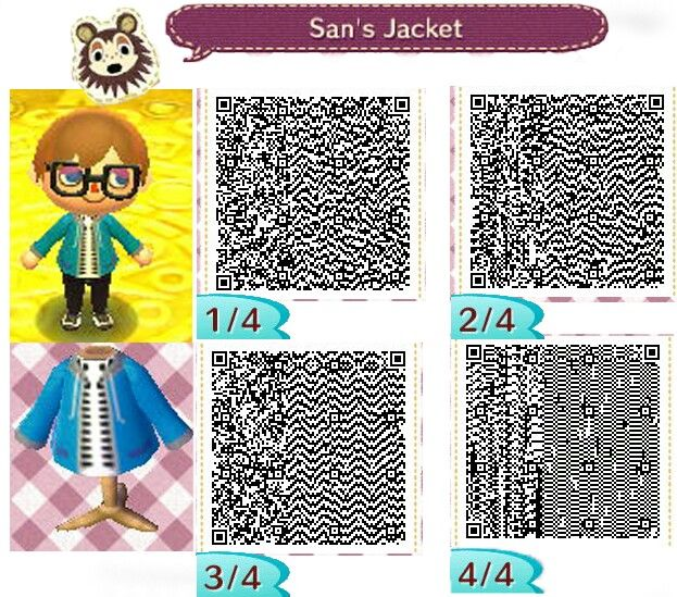 Sans From Undertale Qr Code For Animal Crossing New Leaf Animal