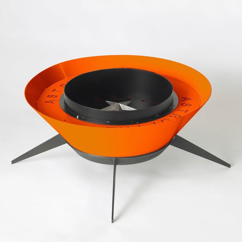Photo of Astrofire Outdoor Fireplace – Tangerine / Natural Gas