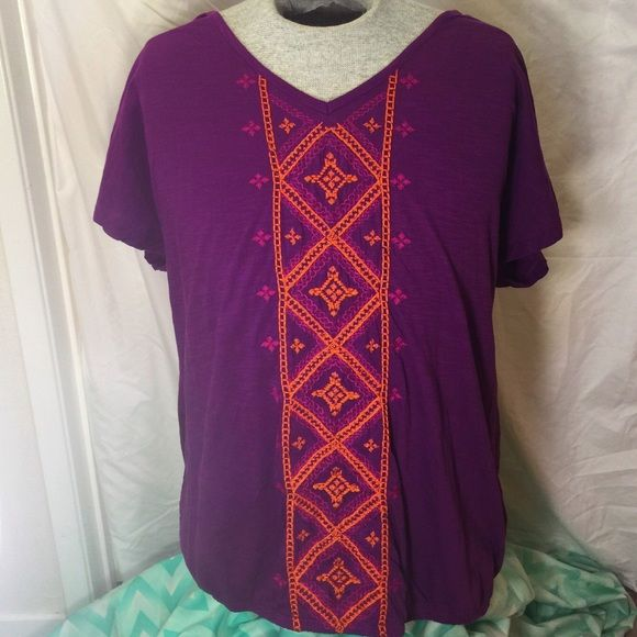 Purple top Very good condition Sonoma Tops