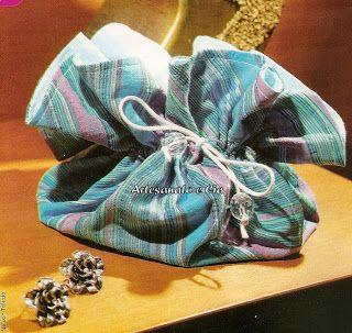 Artesanato e Cia: Porta bijouteria em tecido - passo a passo
