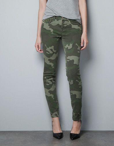 Zara Jeans, Zara Bag | Ropa de camuflaje, Ropa de moda