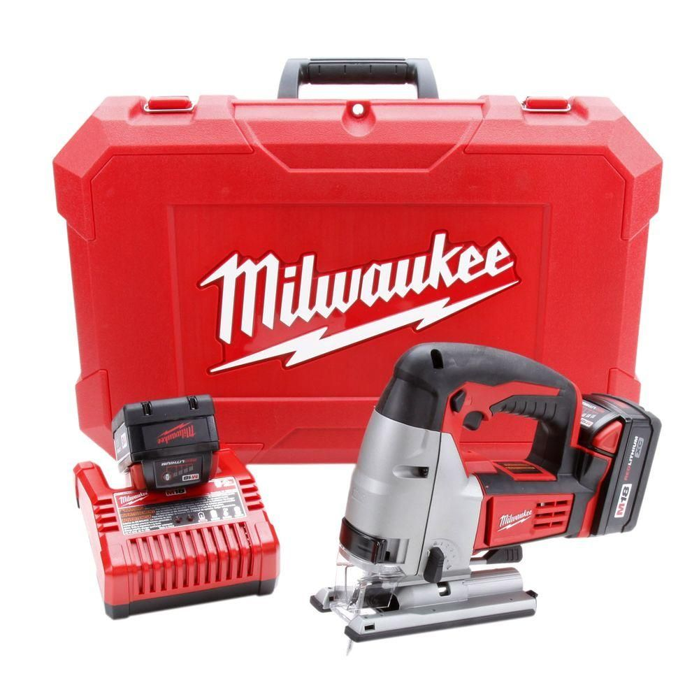 Milwaukee M18 18 Volt Lithium Ion Cordless Jig Saw Kit Products