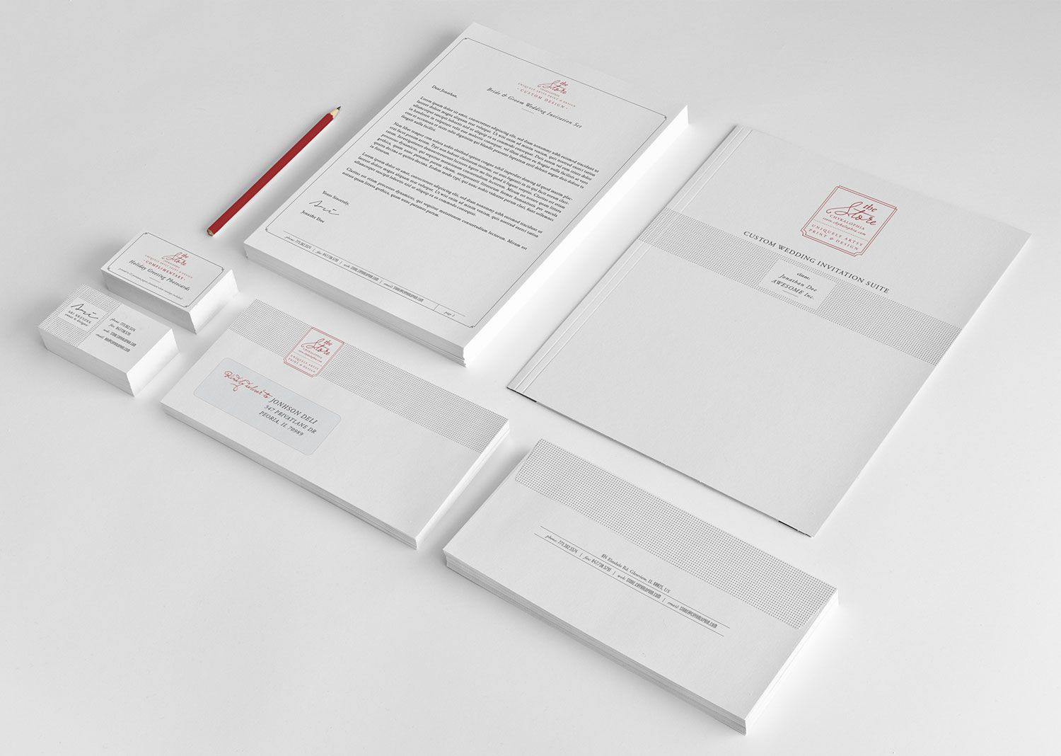Branding stationery chykalophia the store chykalophia design branding stationery chykalophia the store card envelopesbusiness reheart Choice Image
