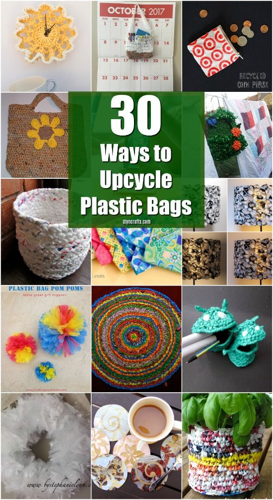 30 Amazing Upcycling Ideas To Turn Grocery Bags Into Spectacular Creations #recycledcrafts