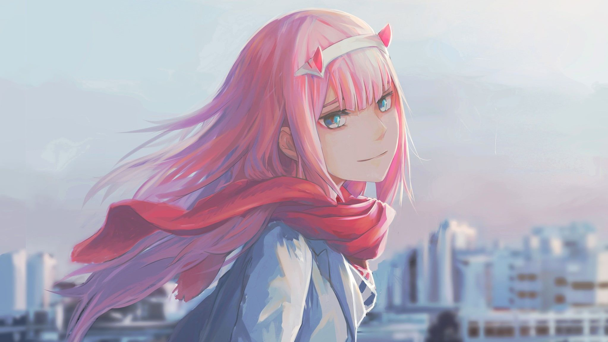 Anime Anime Girls Zero Two Darling In The Franxx Darling In The