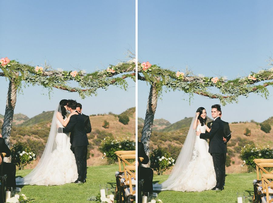 Saddlerock Malibu Winery Wedding