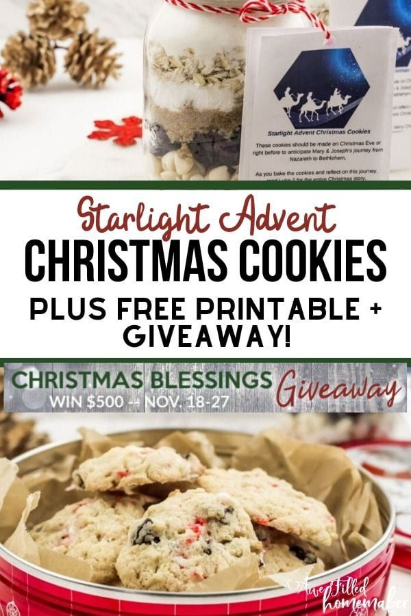 Starlight Advent Christmas Cookies are perfect for the Advent  the Christmas Holiday This unique way to arrive at Jesus birth for the Advent and Christmas season is sure...