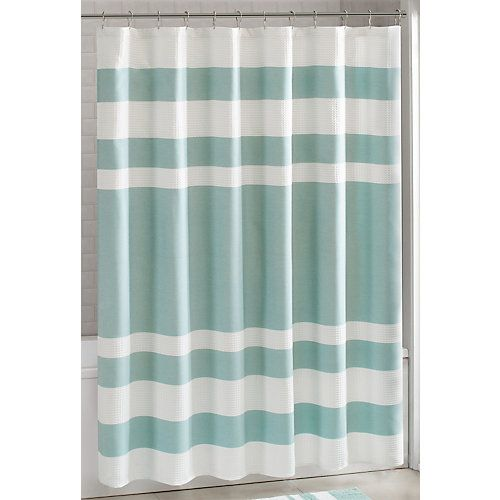 Madison Park Spa Waffle Shower Curtain Gray Shower Curtains