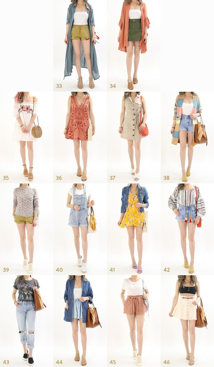 The ULTIMATE Summer Vacation Outfit Ideas Guide #summervacationstyle