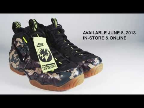 lowest price f2c81 7c813 NIKE AIR FOAMPOSITE PRO PRM LE ARMY CAMO   FOREST ( 587547-300 )