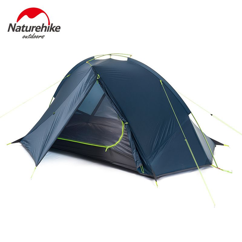 NatureHike 2 Person Tent ultralight 20D Silicone Fabric Tents Double-layer Aluminum Rod C&ing Tent  sc 1 st  Pinterest & NatureHike 2 Person Tent ultralight 20D Silicone Fabric Tents ...