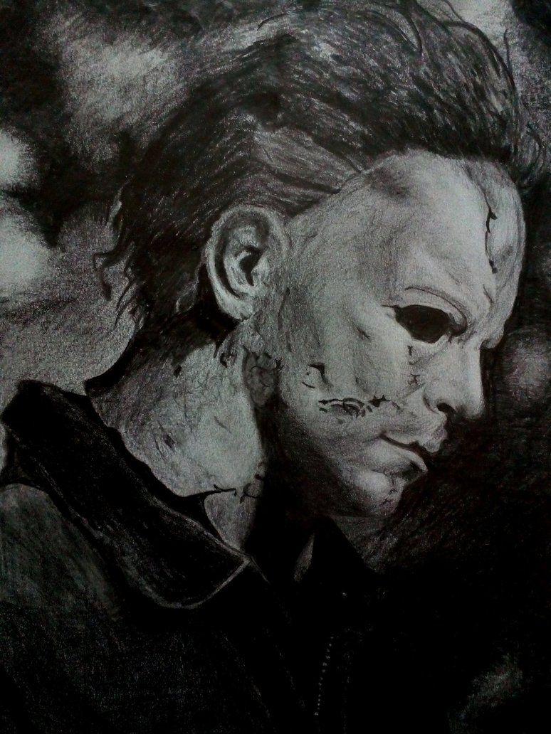 Michael Myers (drawing) by alexandra91 Michael myers