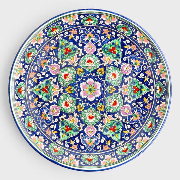 Rishtan Roseleaf Decorative Bowl | DARA Artisans
