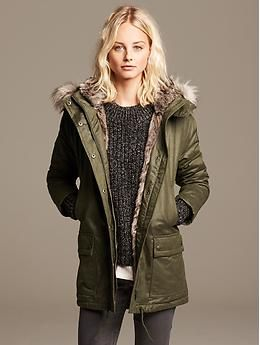 b48e14eb2c1 Snatch this up fast! I ve seen it in person. Fabulous! Love the faux fur.  It s 40% off today! too. So