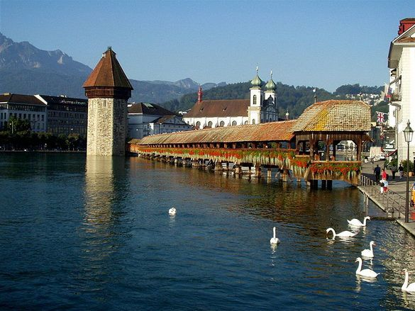 Lucerne. Can you believe I lived here!