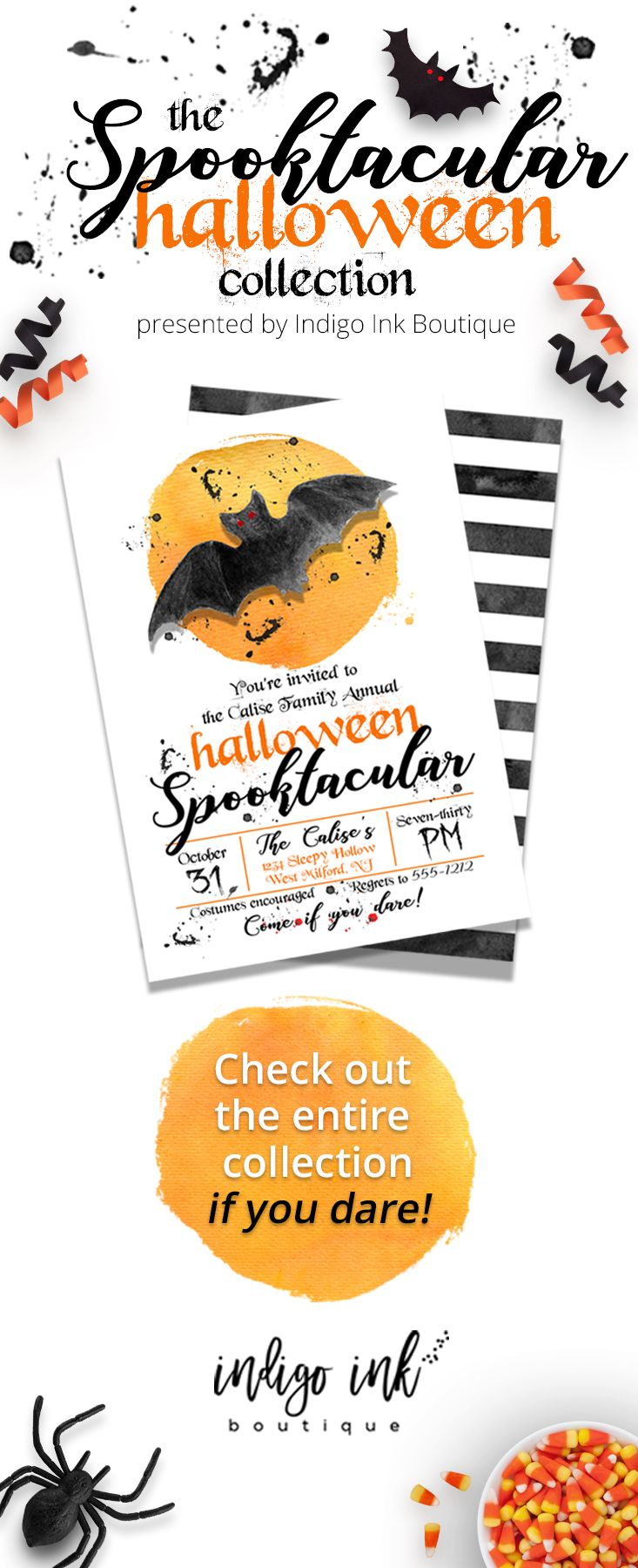 photograph about Halloween Invites Printable referred to as Halloween Invitation Printable Obtain Halloween Invite