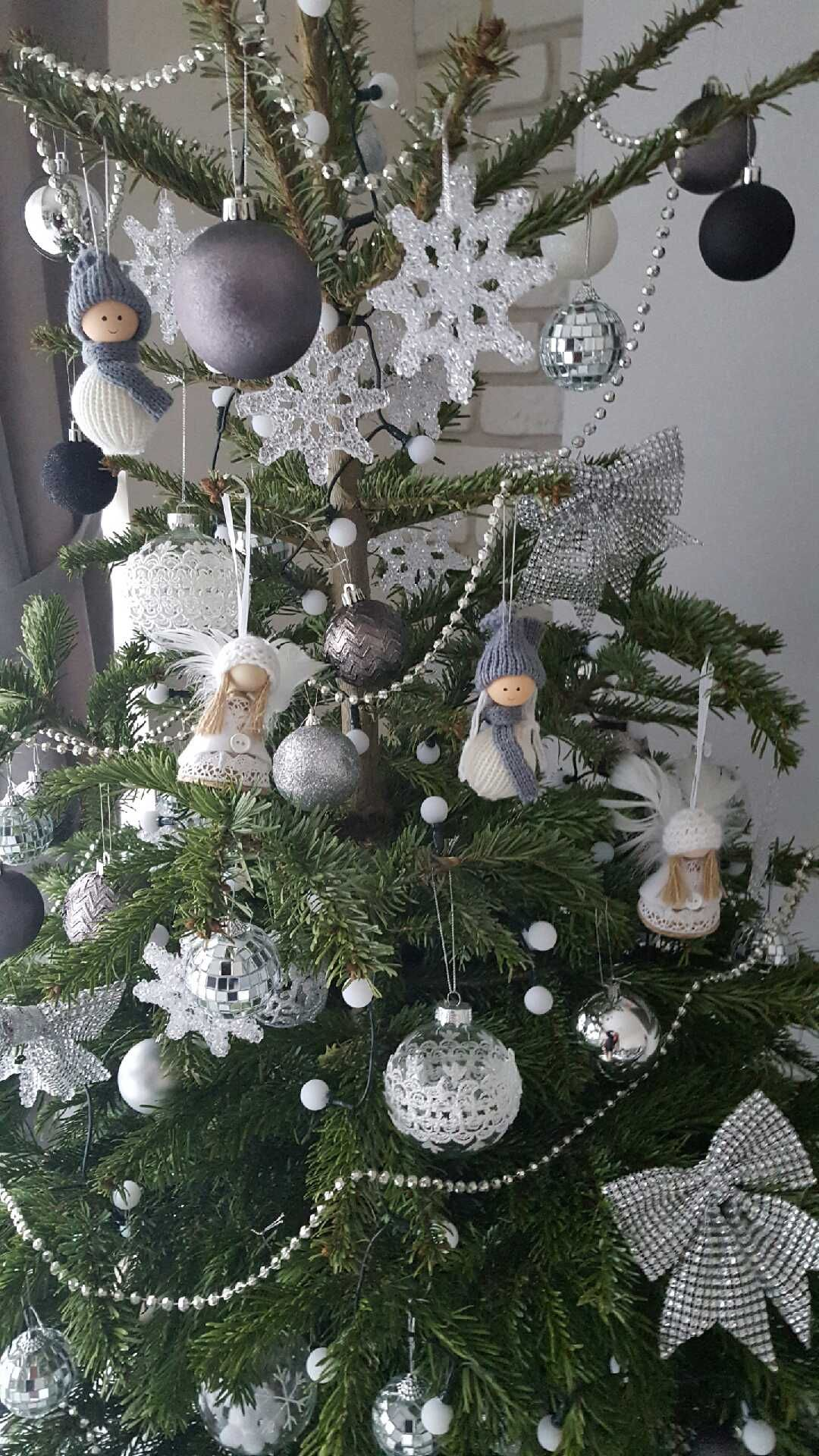 Aniolki Na Choinke Christmas Wreaths Holiday Decor Table Decorations