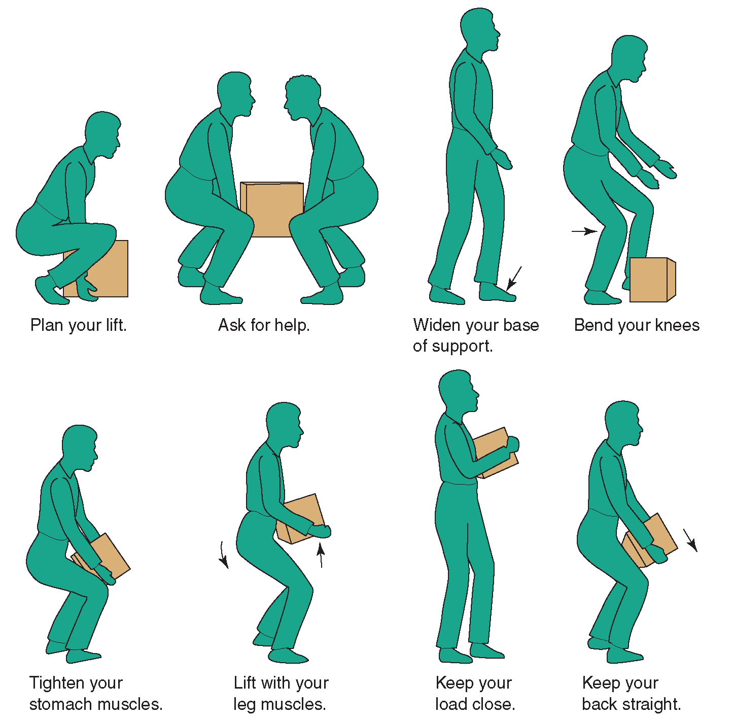 Good Body Mechanics For Lifting Items