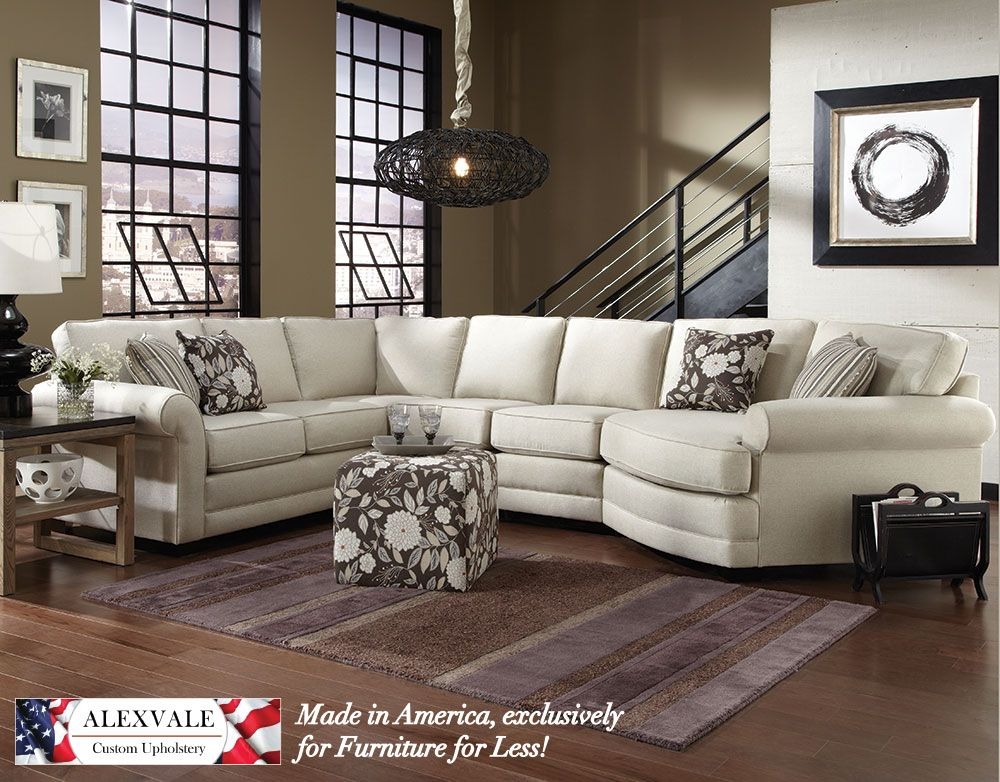 Furniture for Less! Alexvale V560 sectional - lots of pieces ...