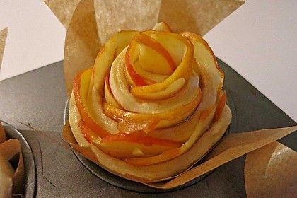 Apfel-Zimt-Rosen mit Blätterteig von ufaudie58 | Chefkoch
