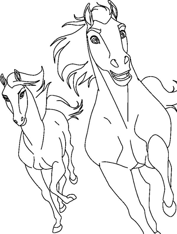 Desenhos Para Colorir Do Spirit Desenhos Para Colorir Cavalos Desenho De Linha Desenhos