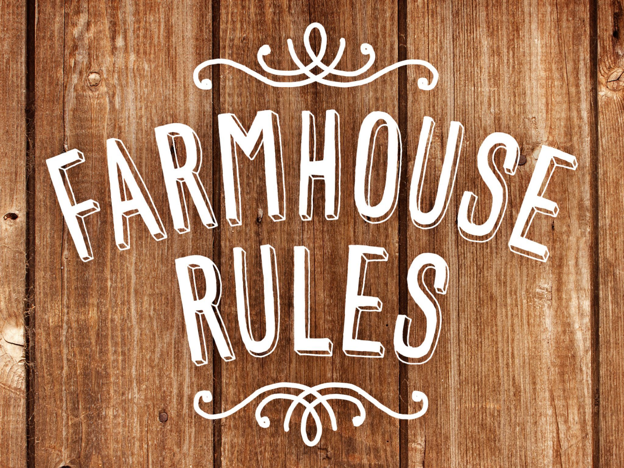 Farmhouse Rules is a lifestyle and cooking show centered
