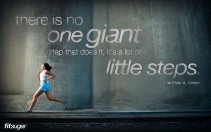 Fitness motivacin quotes progress baby steps 33 Ideas #quotes #fitness #baby #Baby #Fitness #ideas #...