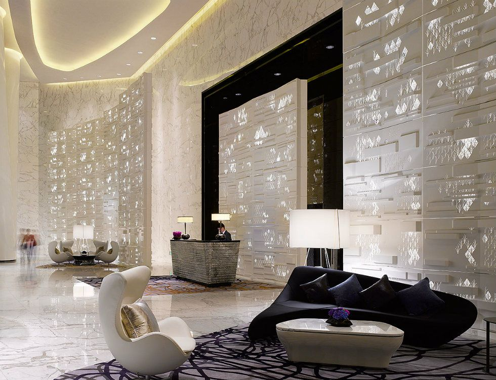 World S Best Lighting Design Ideas Arrives At Milan S Modern Hotels Hotel Interior Design Hospital Interior Design Hotel Lobby Design