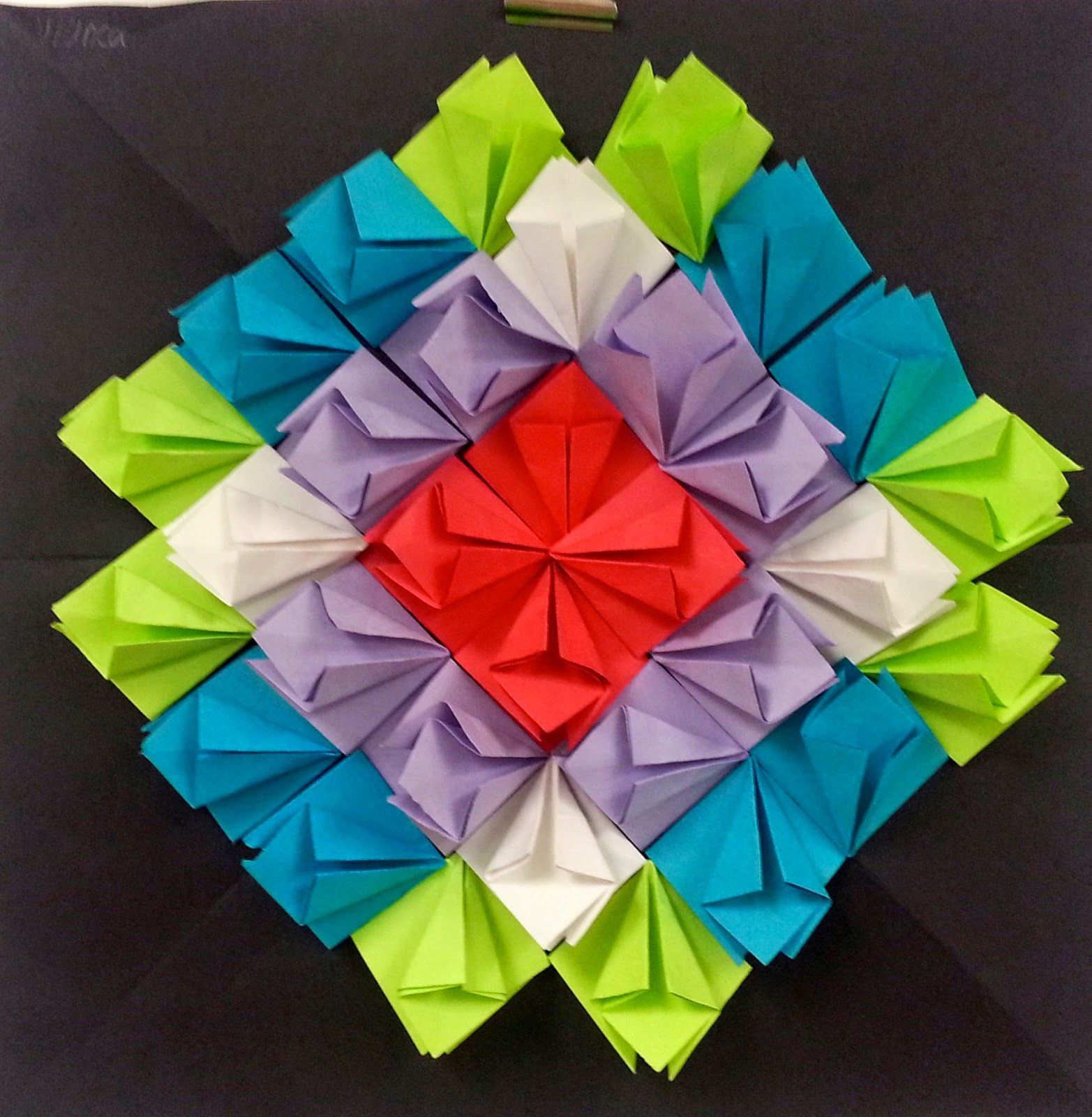 4th 5th 6th radial symmetry paper relief sculptures has links to videos for the different. Black Bedroom Furniture Sets. Home Design Ideas