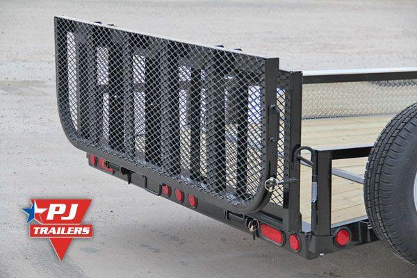 Bi Fold Trailer Ramp Gate Utility Trailer Gate And