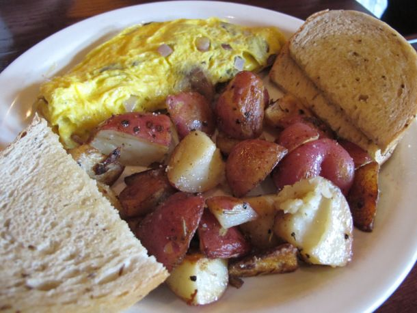 Eggs Toast And Potatoes From Dempsey S Restaurant In Columbus Ohio Egg