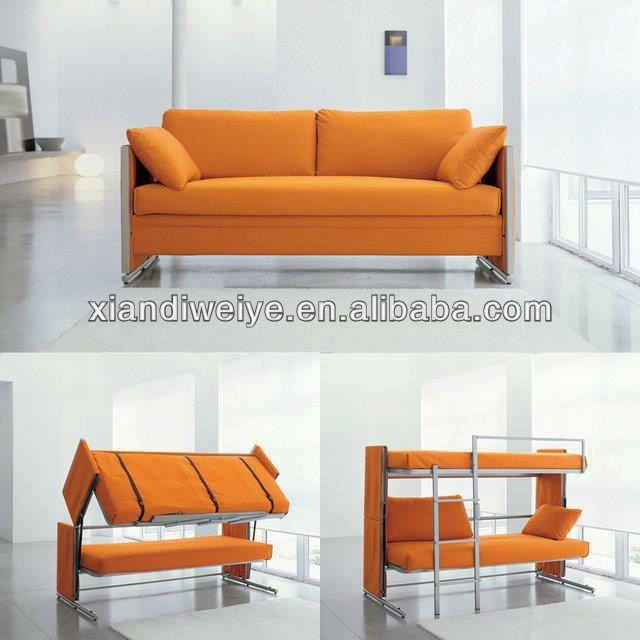 populren stil sofa etagenbett - Etagenbettcouch