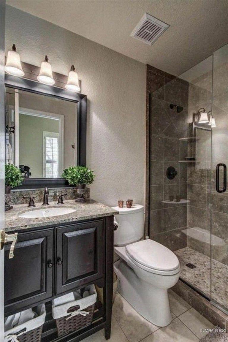 15 Incredible Master Bathroom Makeover Ideas On A Budget Bathroomideas Bathroomremodel Bathroom Remodel Cost Small Bathroom Makeover Master Bathroom Makeover