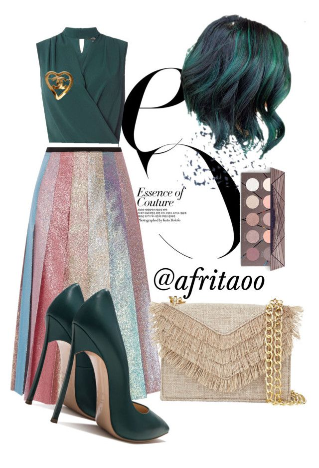 """""""Sin título #383"""" by afritaoo on Polyvore featuring Gucci, Cynthia Rowley, Dorothy Perkins y Chanel"""