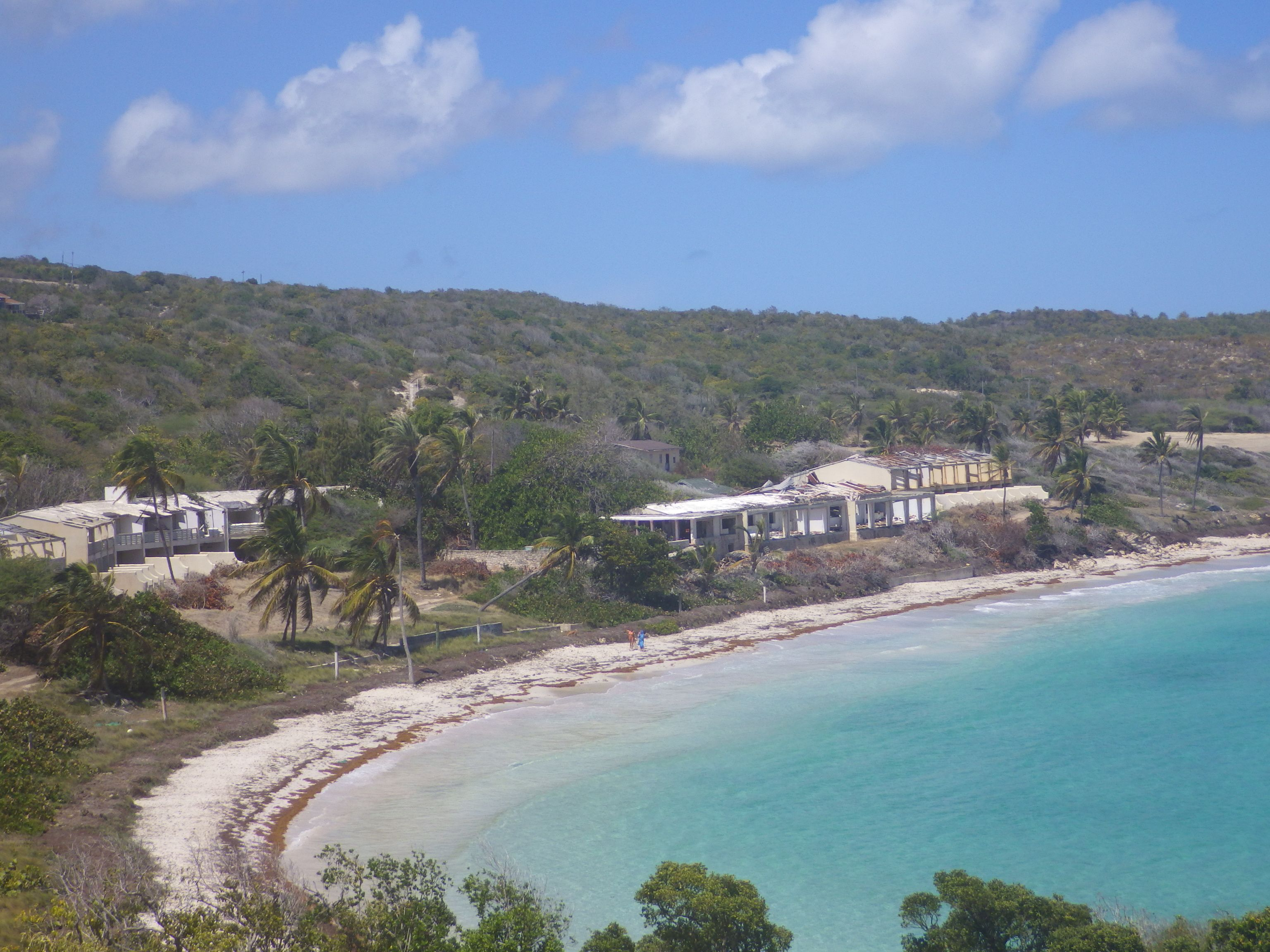 Half Moon Bay Hotel Antigua Destroyed In 1995 By Hurricane Louis A Category 5 Storm Half Moon Bay Hotels Half Moon Bay Antigua Half Moon Bay
