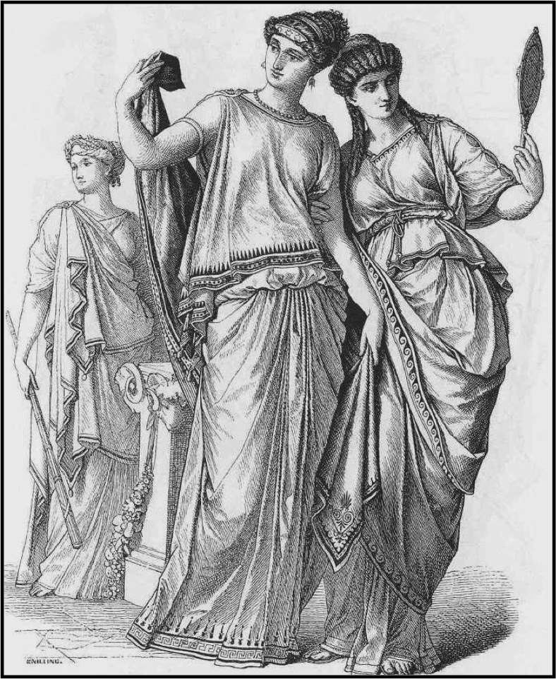 Ancient Roman Clothing For Men: Worn By Both Men And Women. For Men It Is