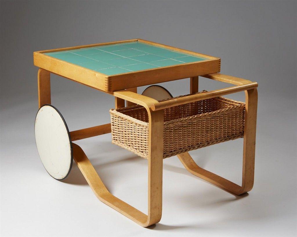 Meuble Salle De Bain Pierre Et Bois ~ Tea Trolley Model 900 Designed By Alvar Aalto For Artek Modernity