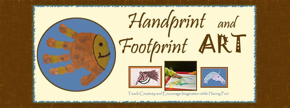 Blog with TONS of handprint art & resources
