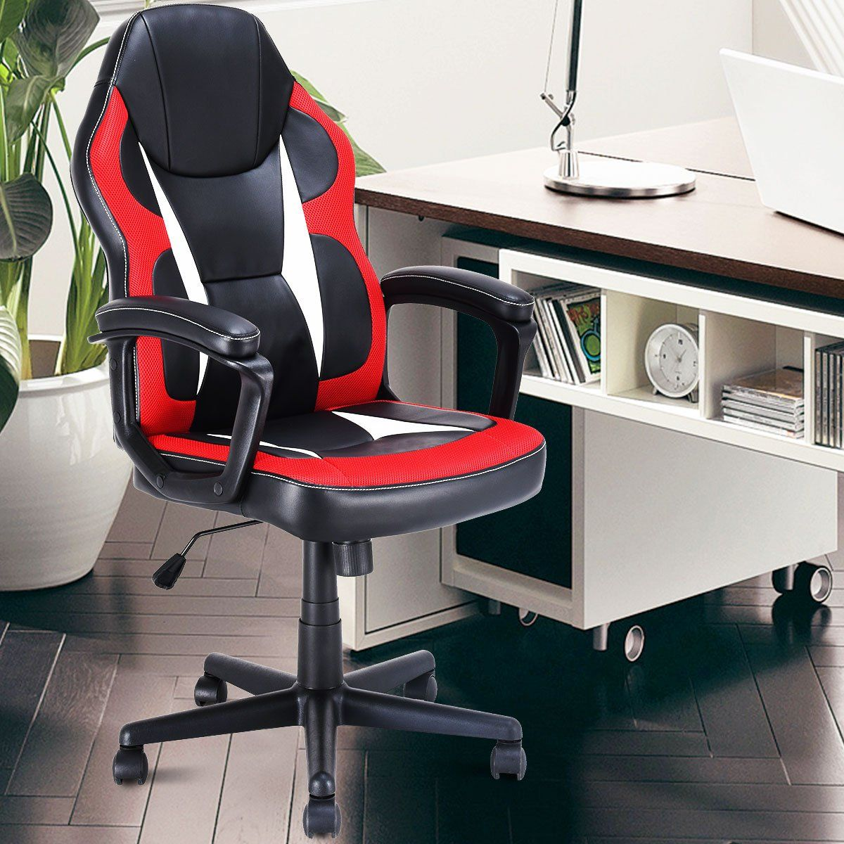 Miraculous Giantex Gaming Chair Executive Home Office Chair Racing Ocoug Best Dining Table And Chair Ideas Images Ocougorg