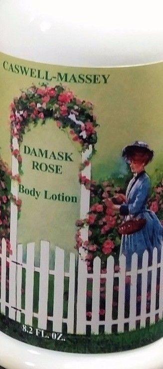 caswell massey damask rose hand and body lotion with pump new #CASWELLMASSEY