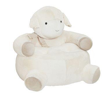 Charming Lamb Critter Chair #pbkids