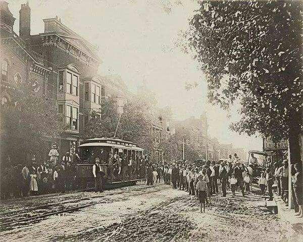 Lexington Kentucky 1883 1st Electric Trolley Old Photos Lexington Kentucky Lexington Ky