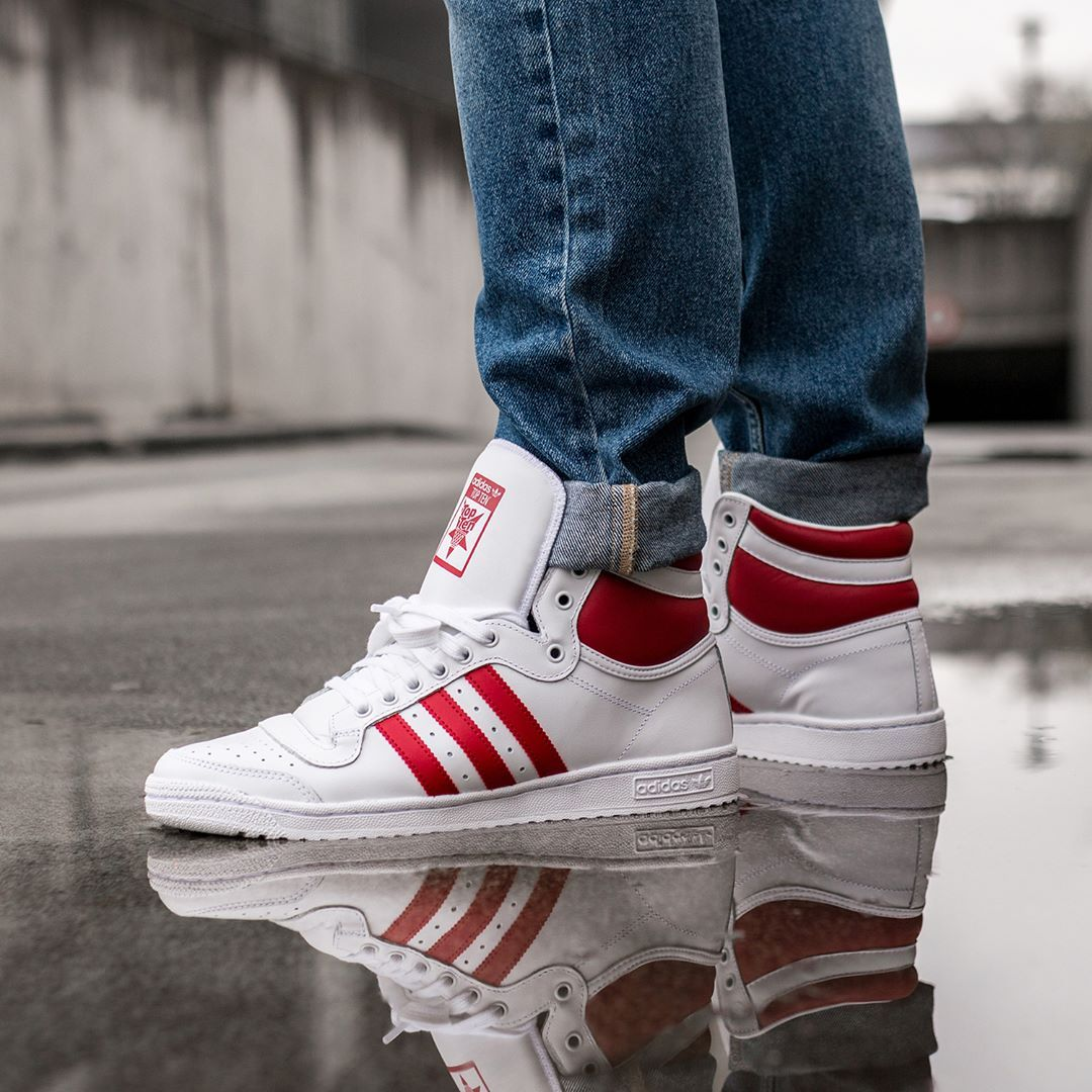 adidas Originals Top Ten Hi in weiss EF2359 | Sneaker