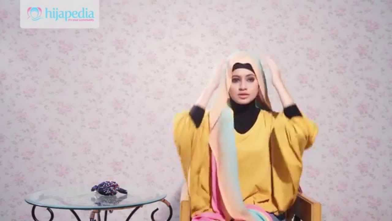 tutorial hijab pashmina ala dian pelangi   tutorial hijab   pinterest