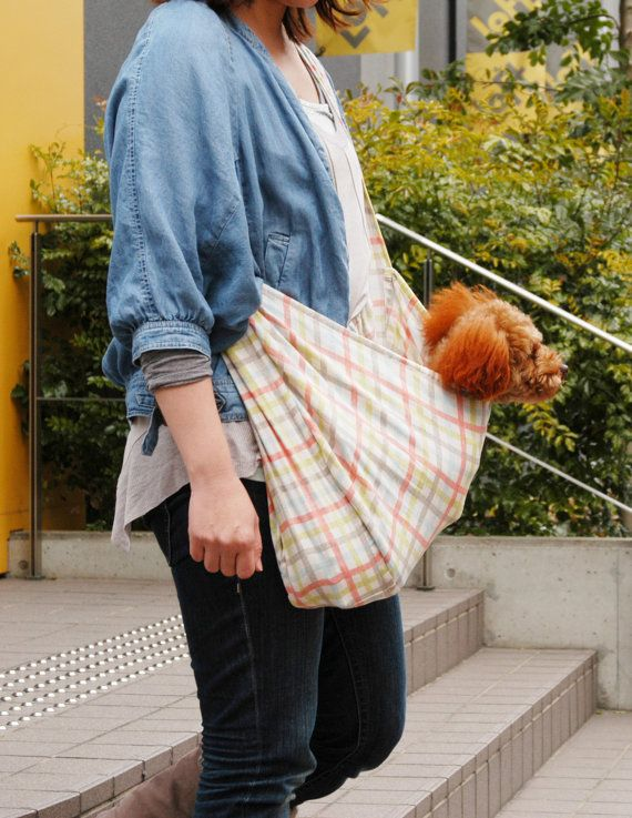 USEFUL Dog Carry Bag PDF Pattern & Recipe