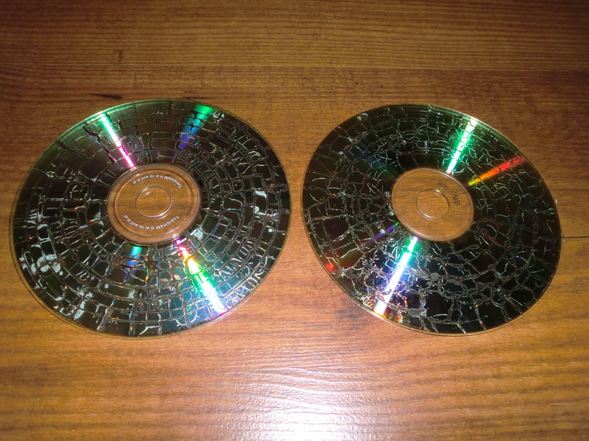T cnica del craquelado de cds y dvds se pueden hacer - Manualidades con cd usados ...