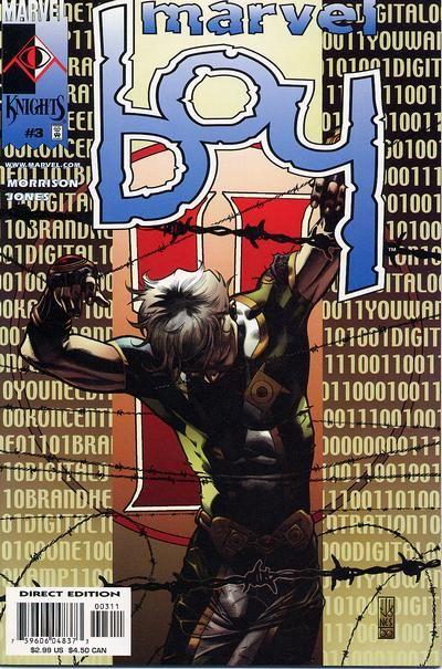 Marvel Boy # 3 by J. G. Jones