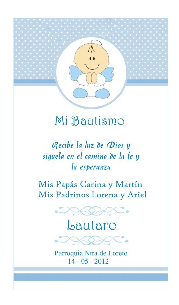 Estampitas bautismo para imprimir - Imagui | BAUTISMO | Pinterest ...