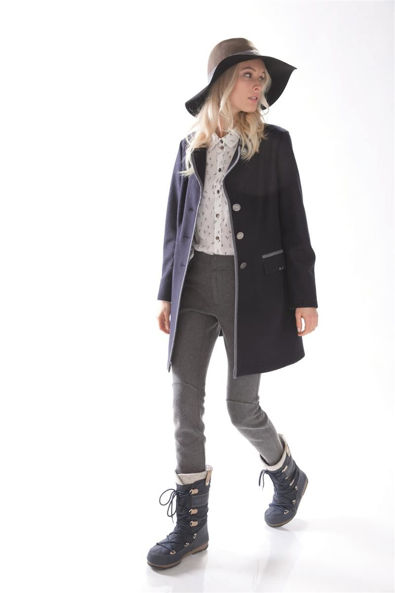 GEIGER sweater coat style Fall Winter Collection See