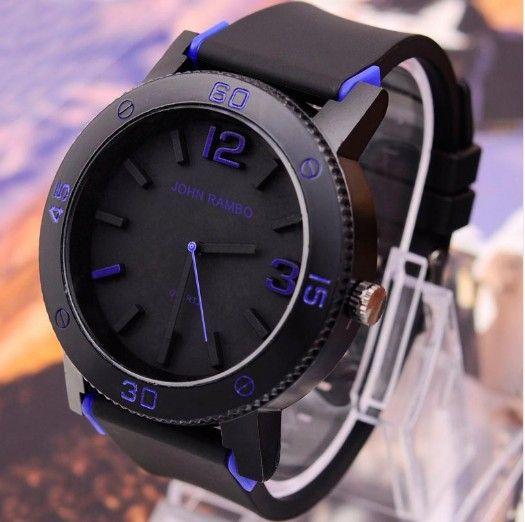 Pánské hodinky John Rambo modré – pánské hodinky Na tento produkt se  vztahuje nejen zajímavá sleva b5b20d26c4